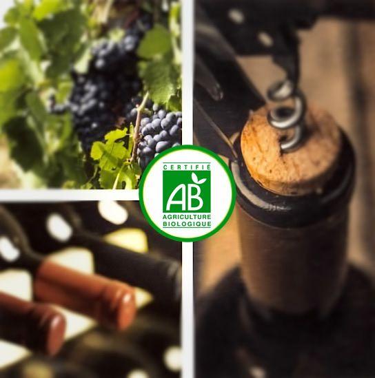 Les vins du Château la Blanquerie sont Certifié AB